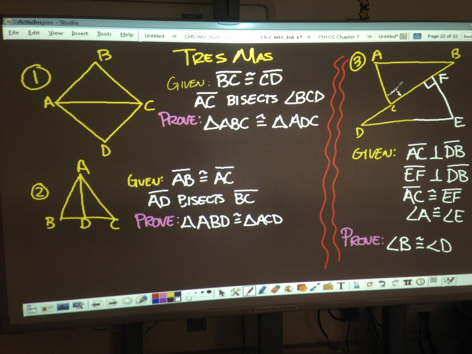 Mr Brzenski S Math Class Thursday 3 10