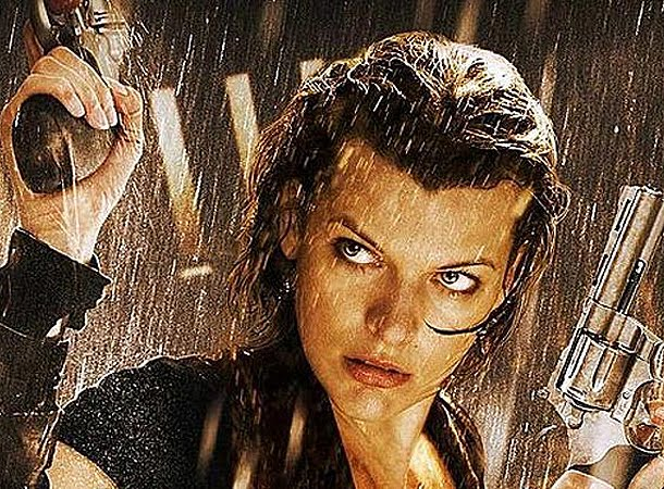2 New Resident Evil Retribution Posters Featuring Alice And Ada