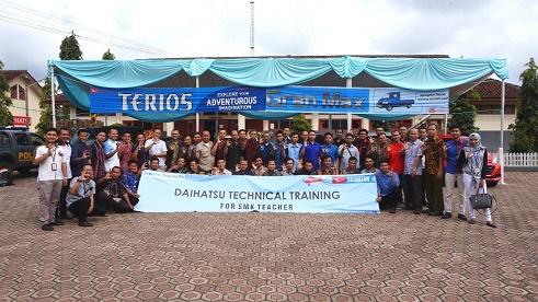 training daihatsu
