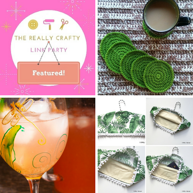 The Really Crafty Link Party #127 featured posts