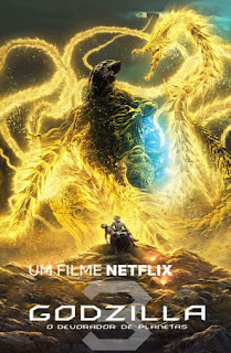 Godzilla: O Devorador de Planetas - HDRip Dual Áudio