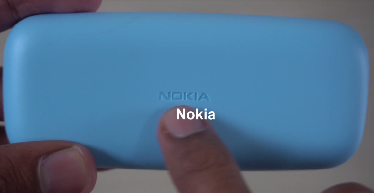 nokia 105 2017. unlike nokia 3310, 105 has no camera at the back and a smaller display. 2017