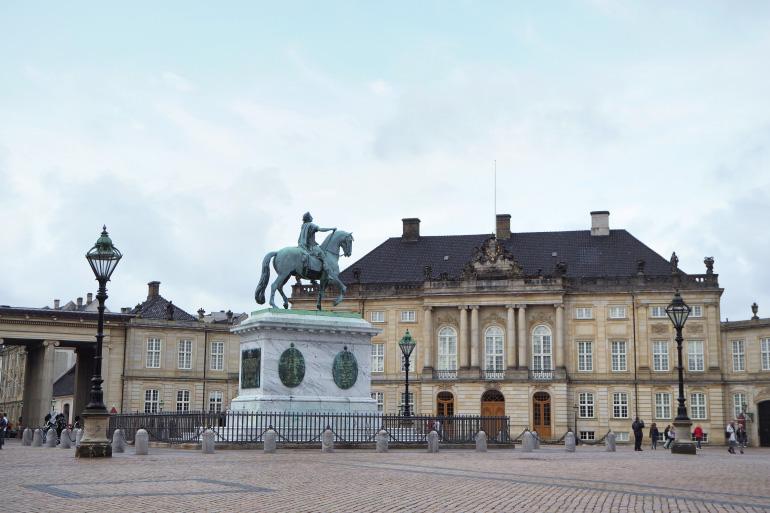 Palais d'Amalienborg à Copenhague