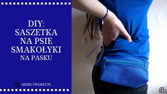 DIY: Jak uszyć torebkę na smakołyki dla psa #1 + jak zrobić pasek do spodni