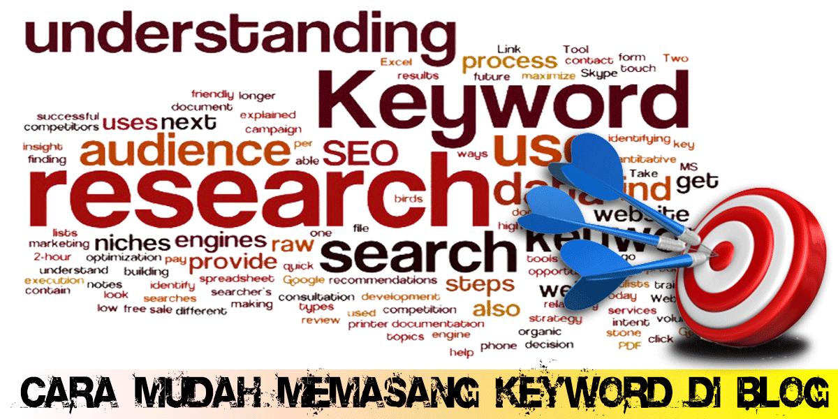 Cara Mudah Memasang Keyword di Blog