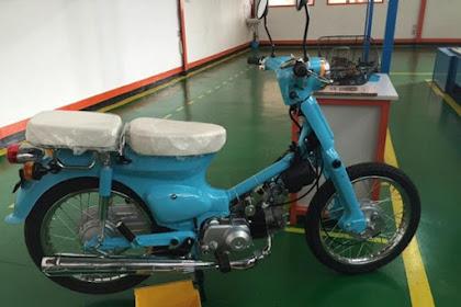 Motor Super Cub 70 Diproduksi Lagi