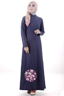 Model Baju Gamis Cantik Wanita