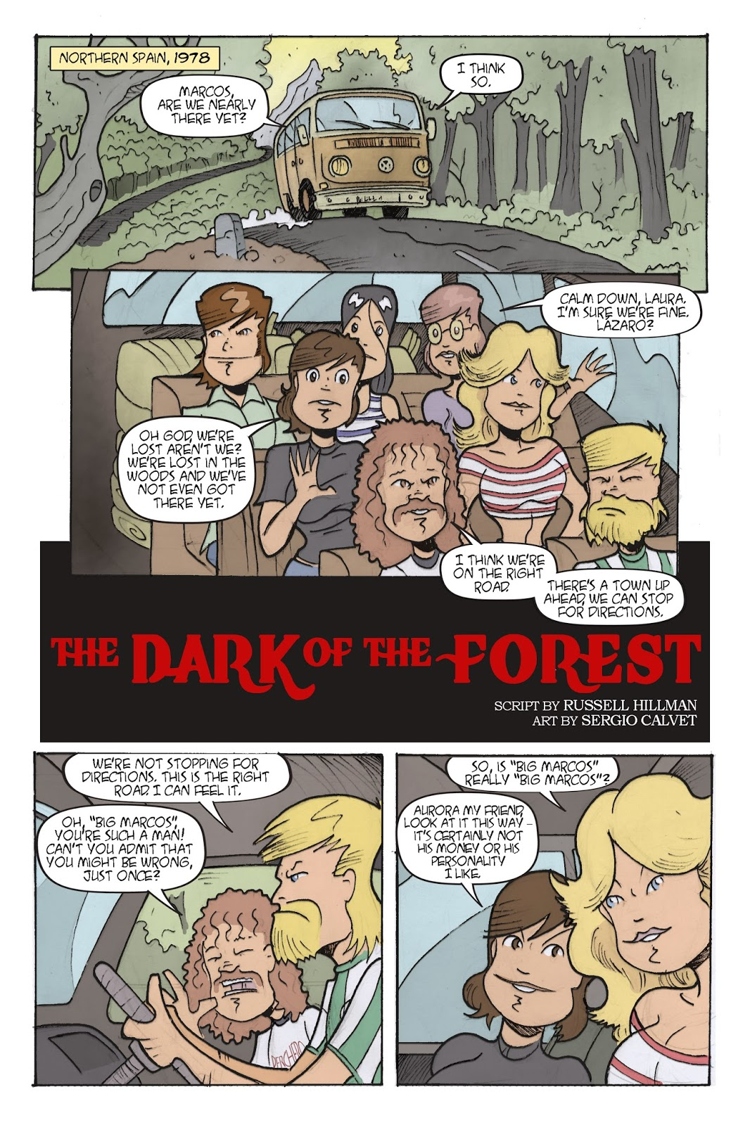 The Dark Forest Art