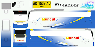 Livery Bus Discovery Muncul