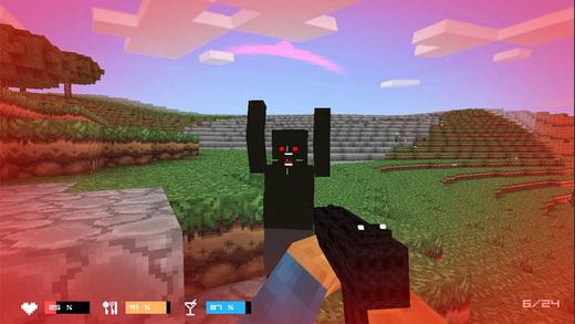 لعبة جزيرة الزومبى Cube Gun 3D Zombie Island