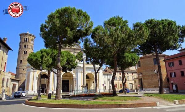 Rávena - Plaza de la catedral