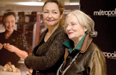 Даниель Мазе-Дельпеш и Катрин Фро представляют фильм «Повар для президента»