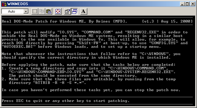 3-in-1 Windows ME DOS Patches! | Operating System Revival