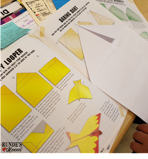 Runde's Room:  End of the Year Theme Days - Paper Airplane Day