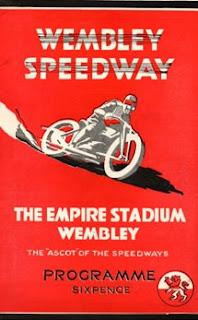 Wembley Lions Programme 1932