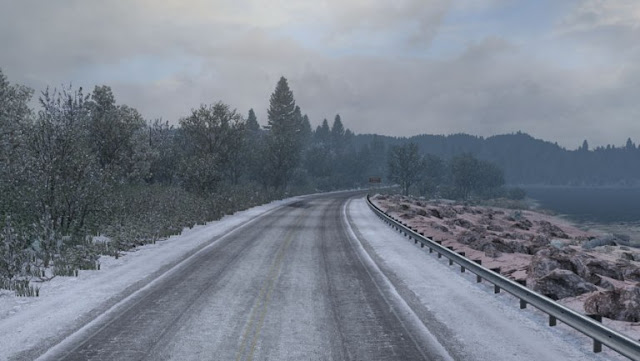 ats frosty winter weather mod v2.5 screenshots 2