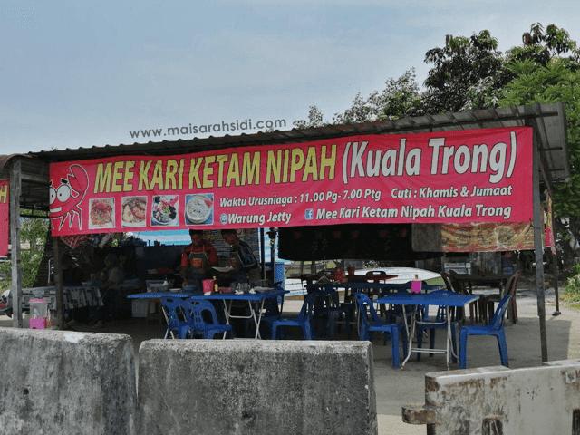 Sedapnya Mee Kari Ketam Nipah Kuala Trong!