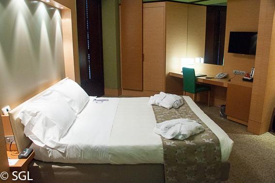 Habitacion UNA Hotel en Napoles