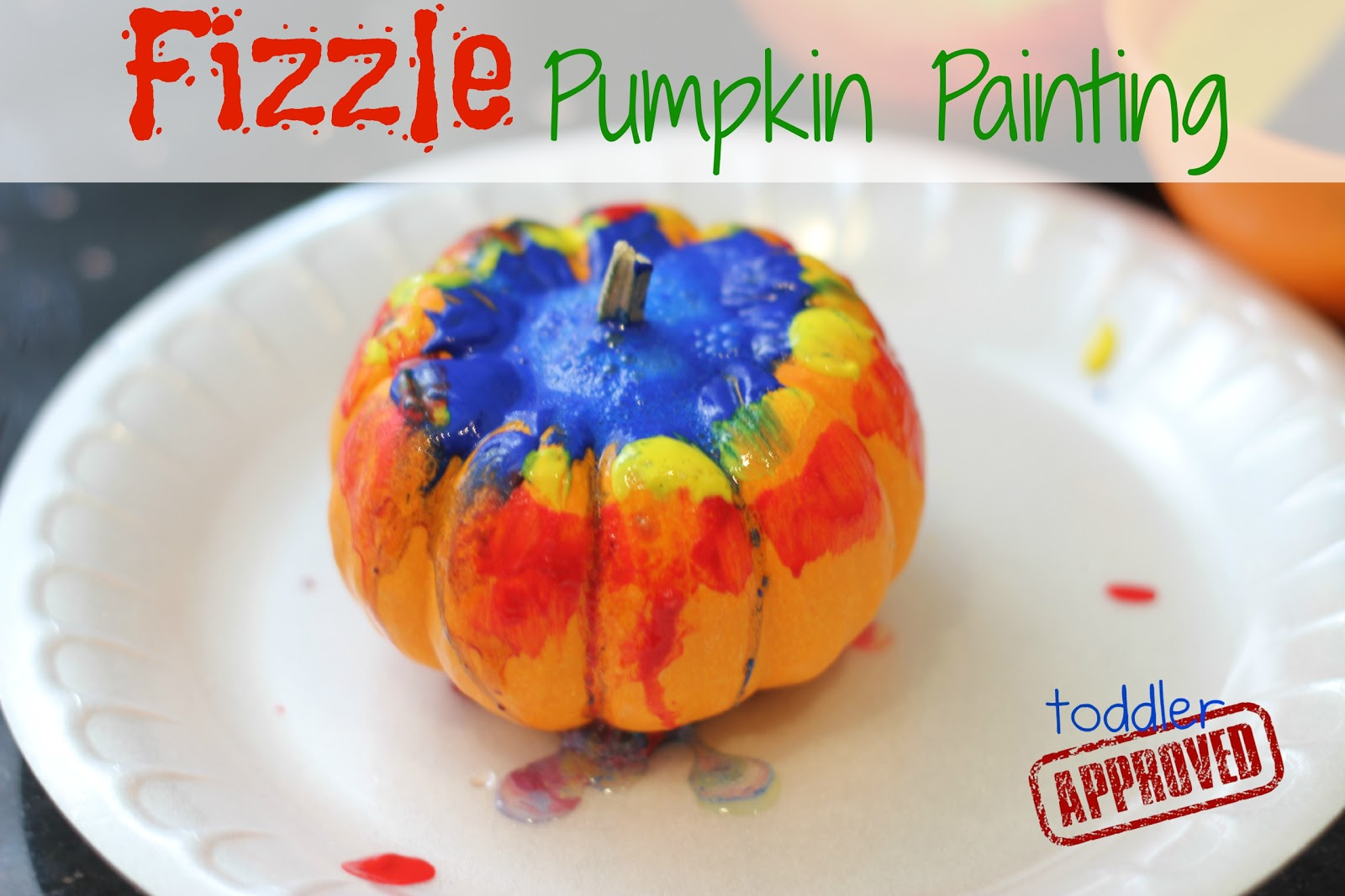 Toddler Approved Painted Name Turkey Pumpkins