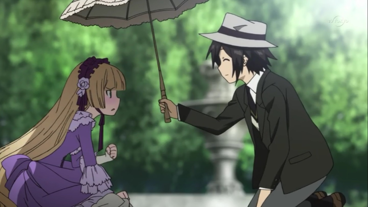 Bagaimana Jika Cerita Misteri Dibumbui Kisah Romantis Anime Romance Terbaik Ini Adalah Jawabannya Gosick Memadukan Dengan Adegan