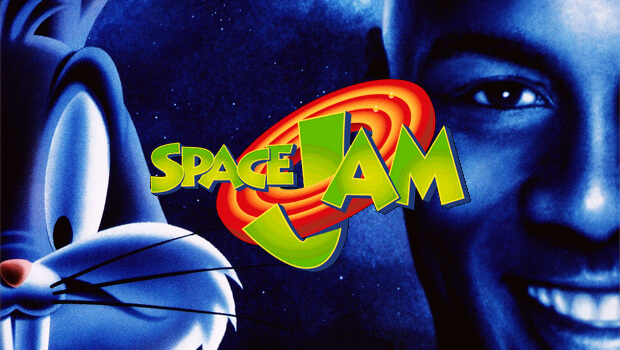 Space Jam 1996 Live Animated Film with Michael Jordan