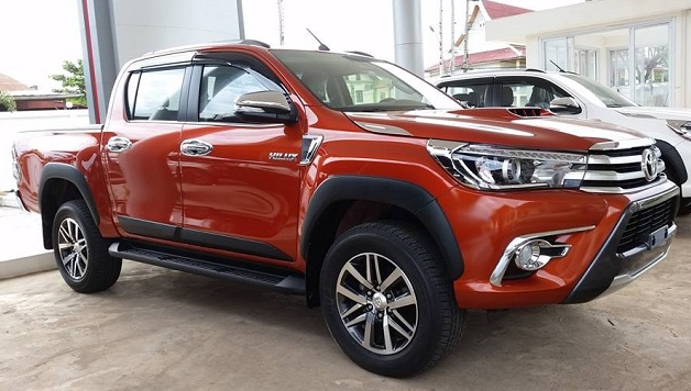 2018 Toyota Hilux Redesign