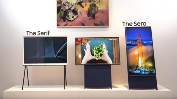 """""""سامسونغ"""" تطلق تلفازا بمميزات غير مسبوقة"""