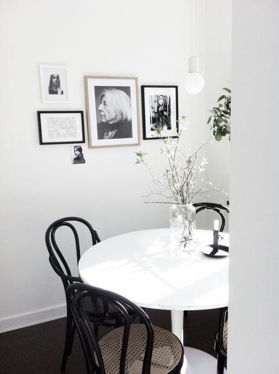Sala de jantar estilo escandinavo - Decoração