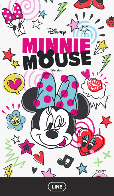 Minnie Mouse: Colorful Pop