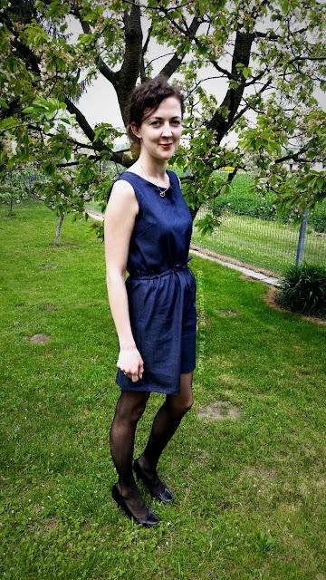 Sukienka z jeansu