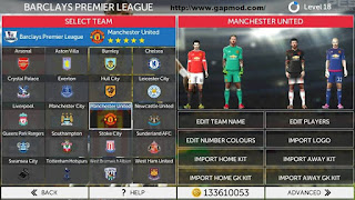 Download First Touch Soccer FTS Mod PES 2016 Apk + Data Android