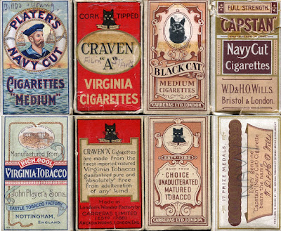 Cigarette Packets 1930s