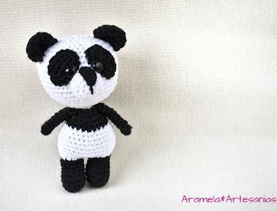 patron amigurumi gratis oso panda 2