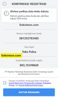 Konfirmasi Payfazz