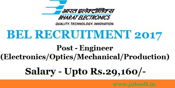 Mechanical engineering jobs, BEL careers, Jobs in Pune