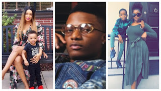 Wizkid and his baby mamas