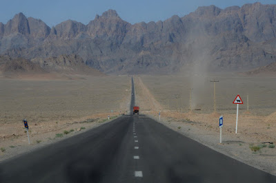 Carretera de Isfahan a Meybod