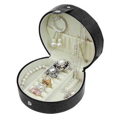 Shop Nile Corp Wholesale Compact Leatherette Jewelry Box