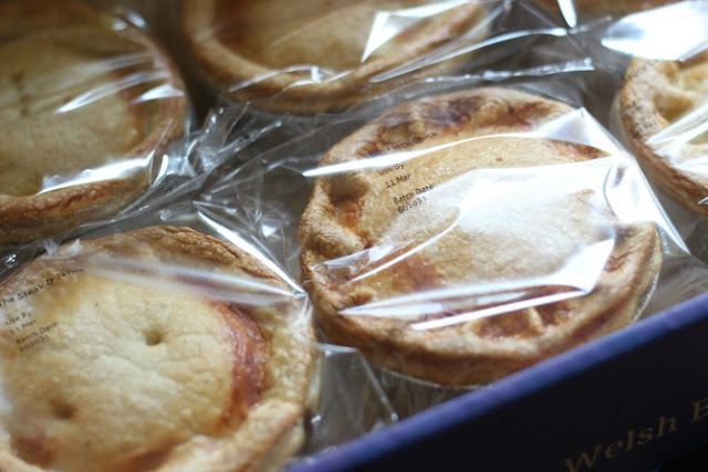 Wilfreds pies in the box