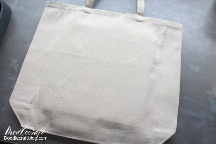 jumbo sturdy tote bag ready for decorating