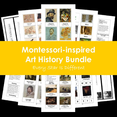 Montessori-inspired Art History Bundle