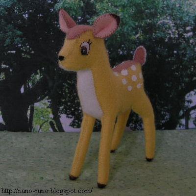Stuffed Bambi