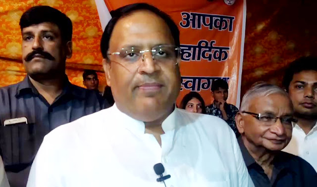 Two diyas must be burnt in the name of cleanliness and women empowerment on Deepawali; Vipul Goyal