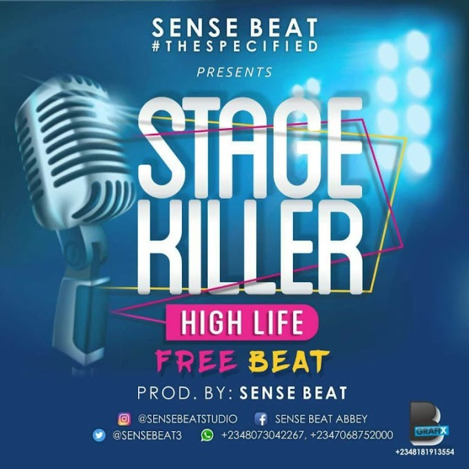 FREEBEAT: Sense Beatz – Stage Killer
