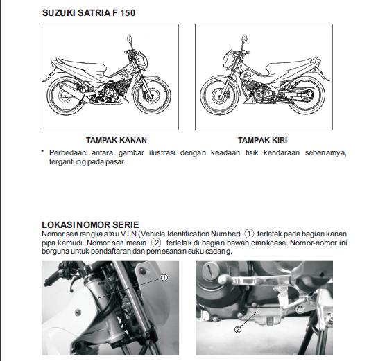 manual book service suzuki satria fu 150 planetbukupdf rh planetbukupdf blogspot com Harga Motor Suzuki Satria Fu Daftar Harga Satria Fu