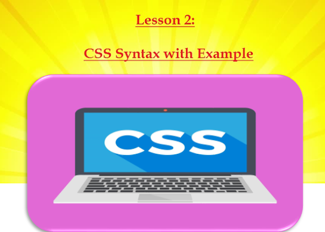 lesson - 2 : css syntax