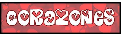 tipografias con corazones