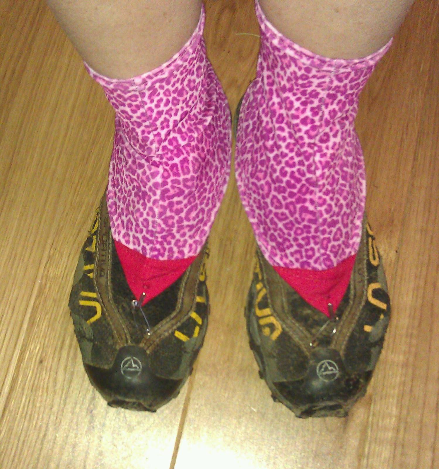 Running Shoe Gaiter Pattern