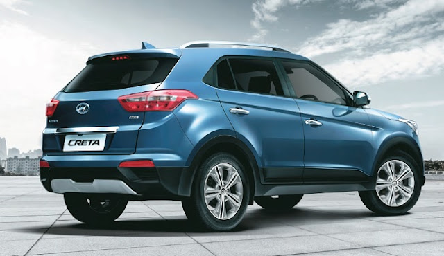 2017 Hyundai Creta Facelift right side view