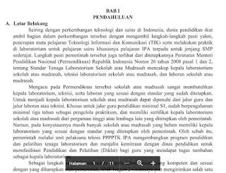 Contoh Laporan OJL Calon Kepala Laboratorium IPA SMP